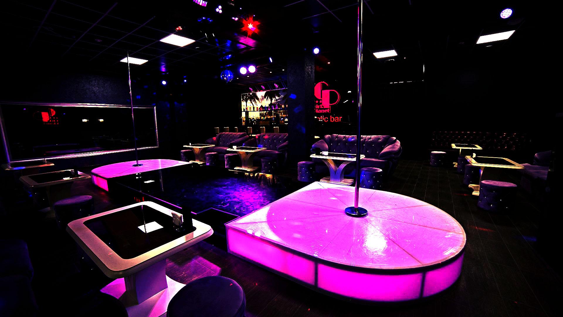 Flint strip club