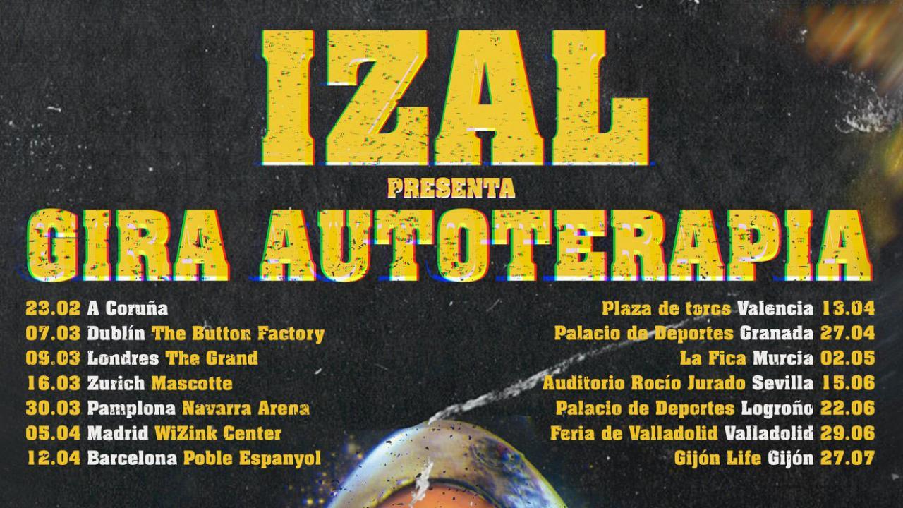 016a20ca5c0 Izal confirma los primeros conciertos de la Gira Autoterapia