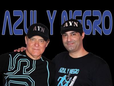 Imagen de Azul y Negro