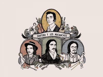 Imagen de Santero y los Muchachos