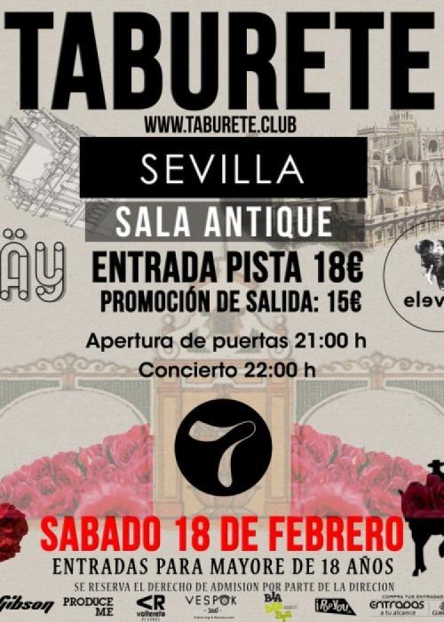 Taburete Sevilla.Concierto De Taburete En Sevilla Comprar Entradas