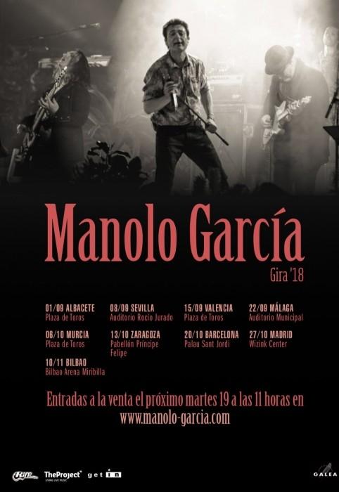 Concierto De Manolo García En Barcelona Comprar Entradas