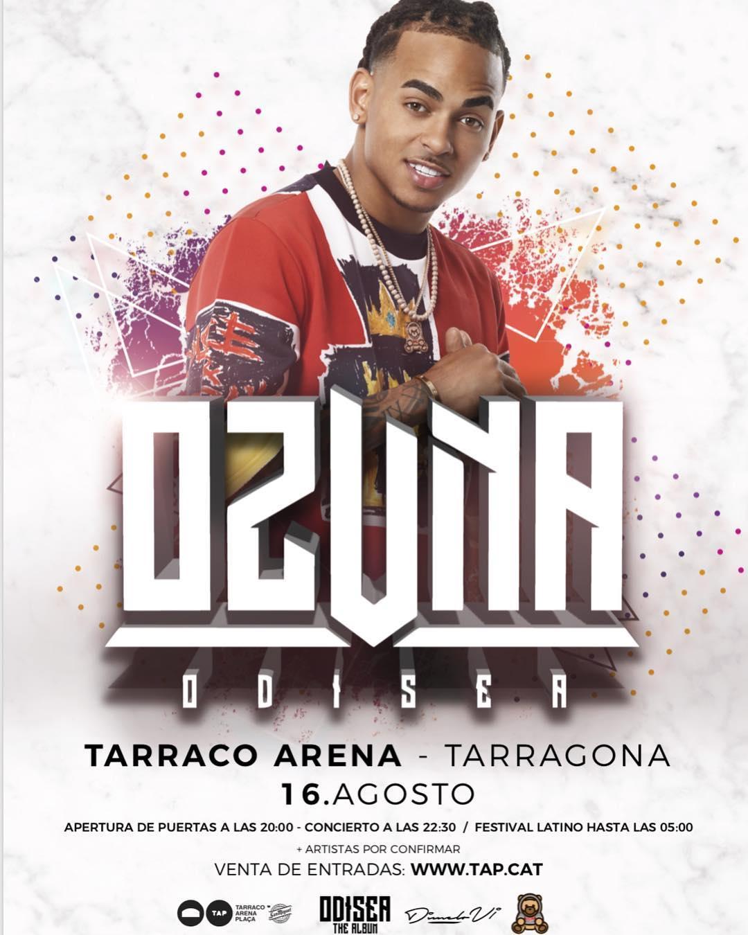 Concierto De Ozuna En Tarragona Comprar Entradas