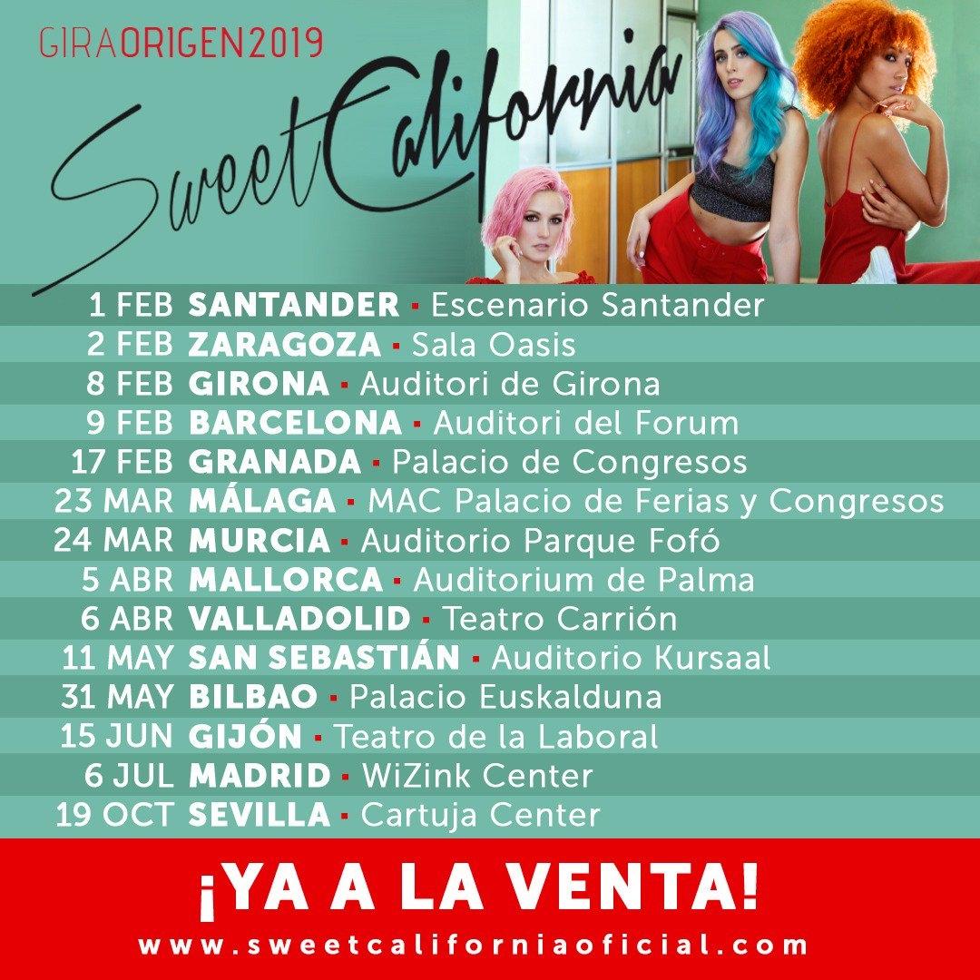 Concierto De Sweet California En Girona Comprar Entradas