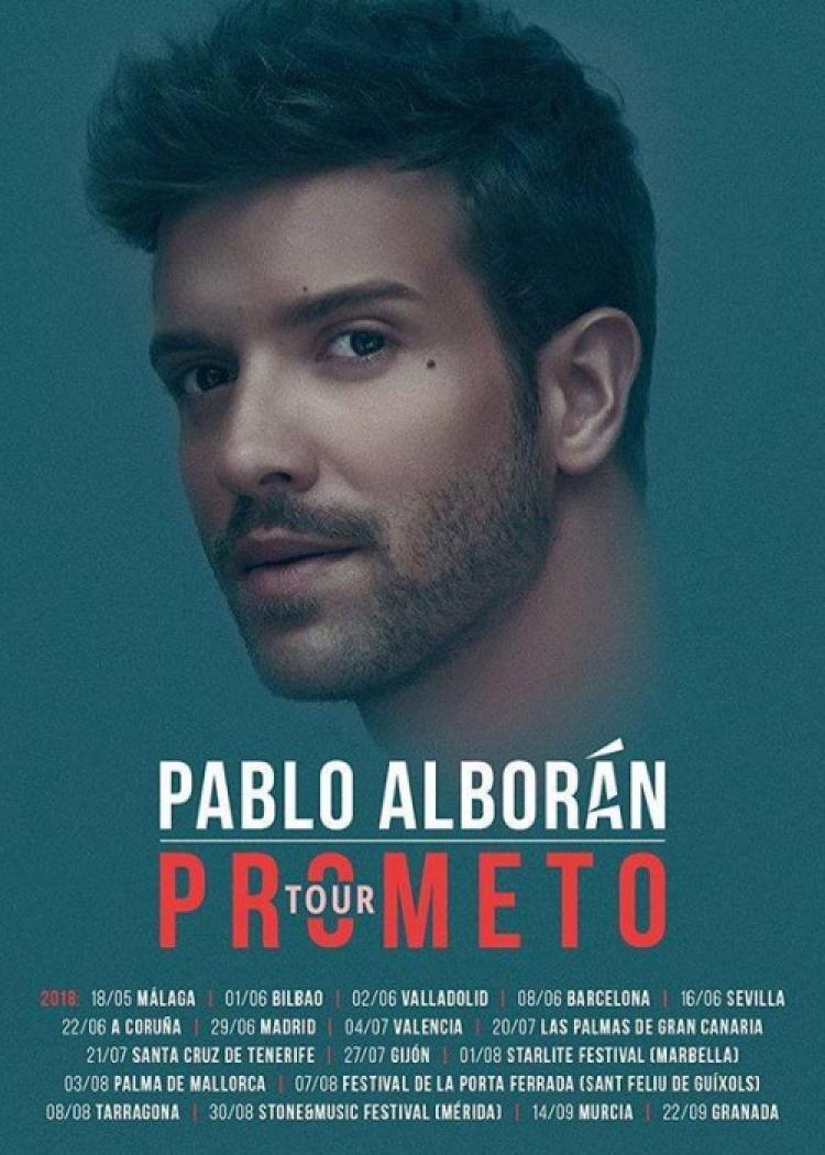 Concierto De Pablo Alborán En Tarragona Comprar Entradas