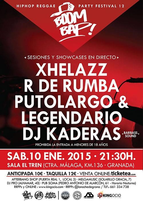 2c9b411f96529 Hip Hop Reggae Party 2015 (Boom Bap) en Granada. Comprar Entradas.