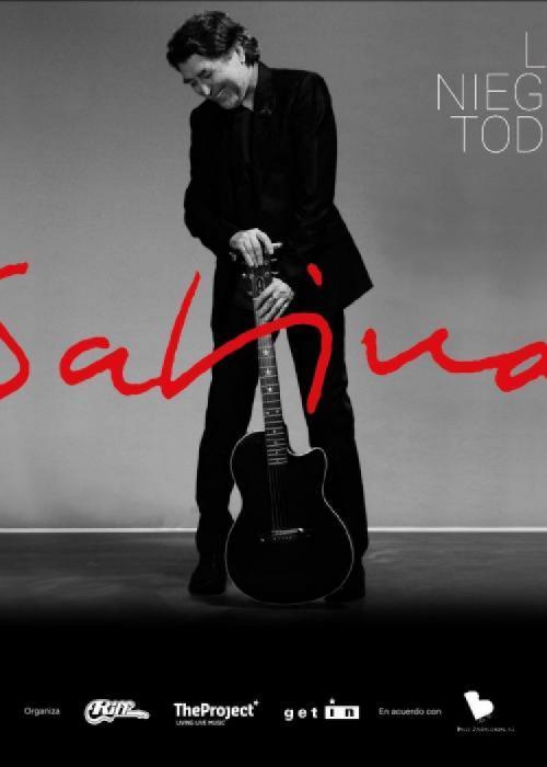 Cartel de Concierto de Joaquín Sabina en Barcelona