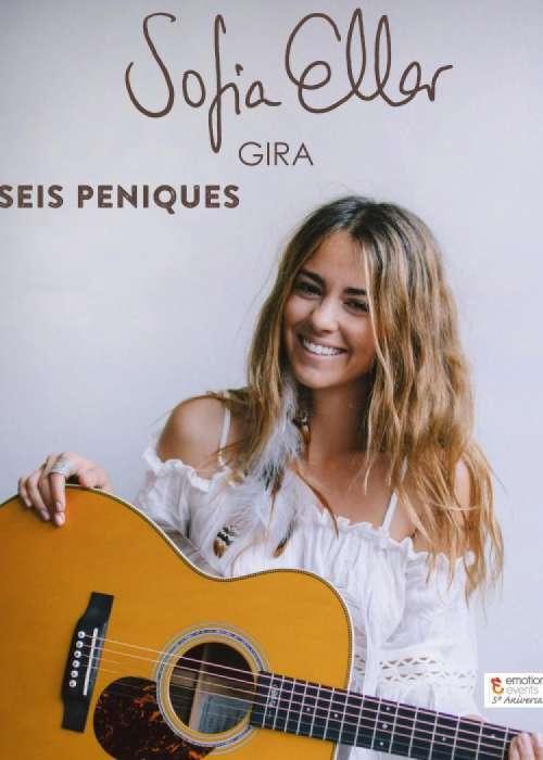 Cartel de Concierto de Sofía Ellar en Granada