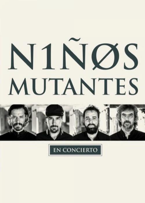 Cartel de Concierto de Niños Mutantes en Granada
