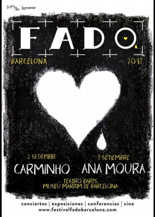 Cartel de Concierto de Ana Moura en Barcelona