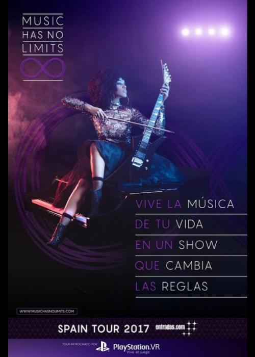 Cartel de Concierto de Music Has No Limits en Granada
