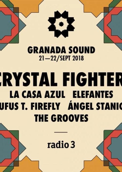 Cartel de Granada Sound 2018