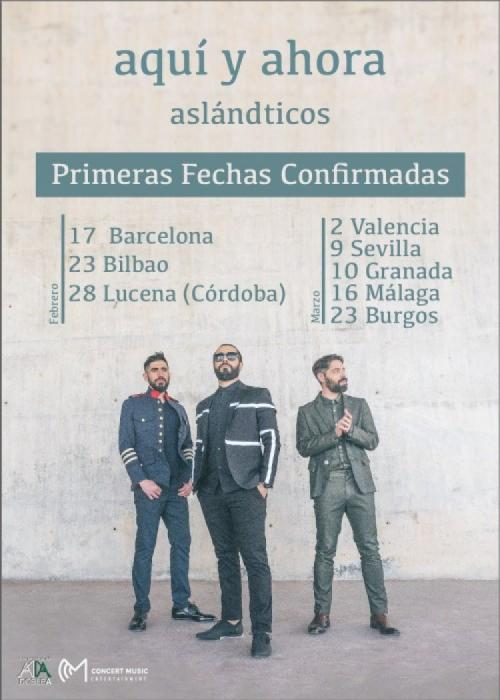 Cartel de Concierto de Los Aslándticos en Granada