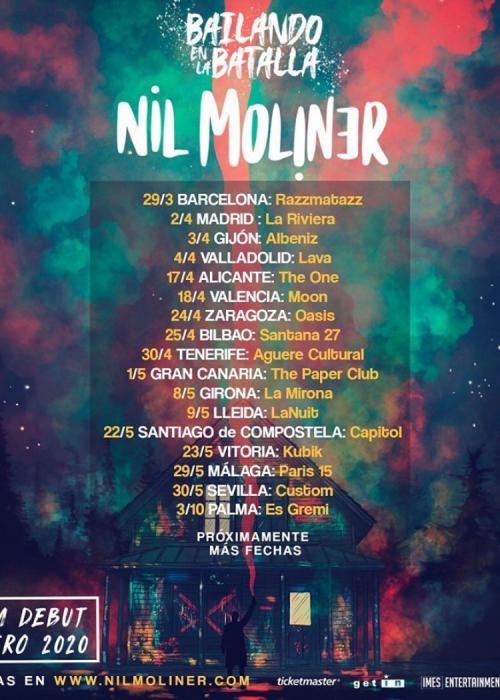 Concierto de Nil Moliner en Madrid