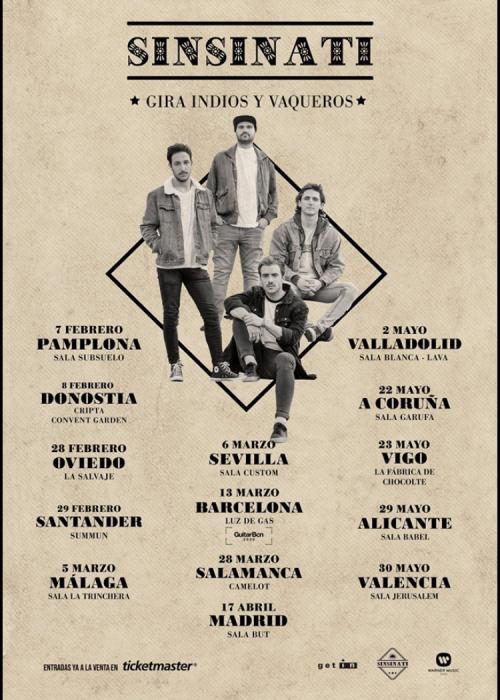 Concierto de Sinsinati en Madrid