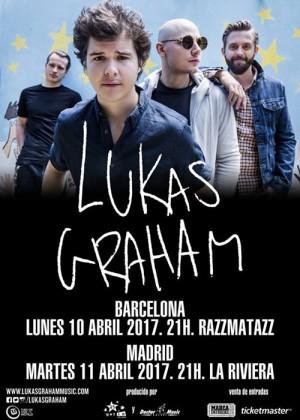 Concierto de Lukas Graham en Madrid