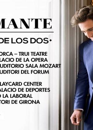 Concierto de David Bustamante en Roquetas de Mar