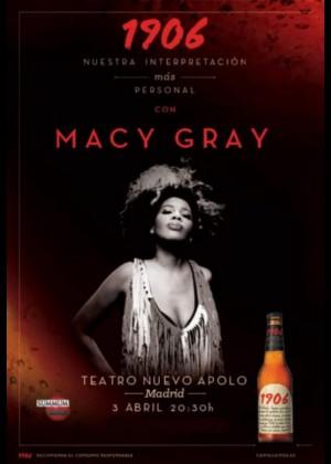 Concierto de Macy Gray en Madrid