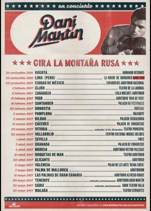 Concierto de Dani Martín en Málaga