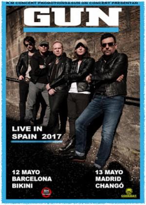 Concierto de Gun en Barcelona