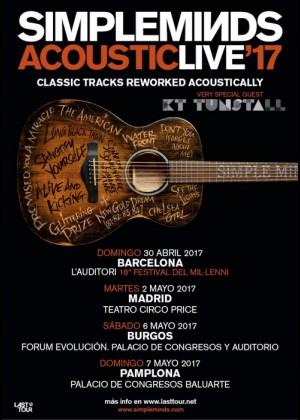 Concierto de Simple Minds en Pamplona