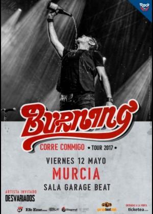 Concierto de Burning en Murcia