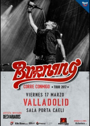 Concierto de Burning en Valladolid