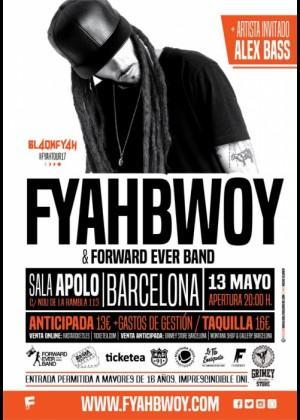 Concierto de Fyahbwoy en Barcelona