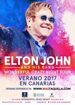Concierto de Elton John en Las Palmas de Gran Canaria