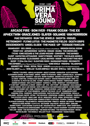 Cartel de Primavera Sound 2017