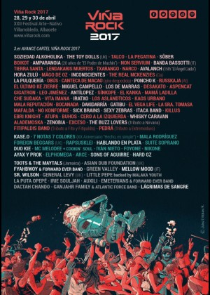 Cartel de Viña Rock 2017