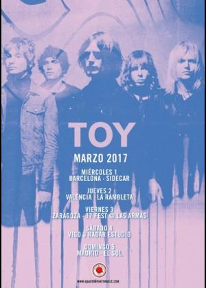 Concierto de Toy en Madrid