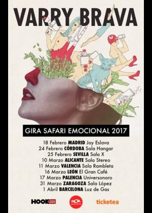 Concierto de Varry Brava en Valencia