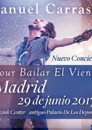 Concierto de Manuel Carrasco en Madrid