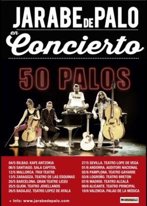 Concierto de Jarabe de Palo en Badajoz