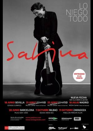 Concierto de Joaquín Sabina en Barcelona