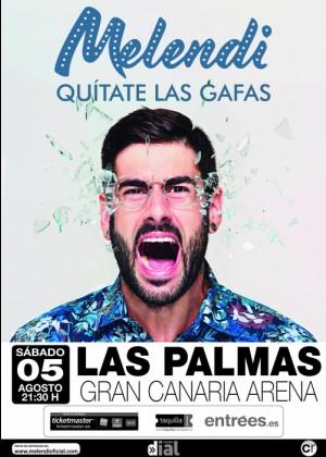 Concierto de Melendi en Las Palmas de Gran Canaria