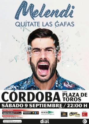 Concierto de Melendi en Córdoba