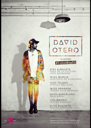 Concierto de David Otero en Barcelona