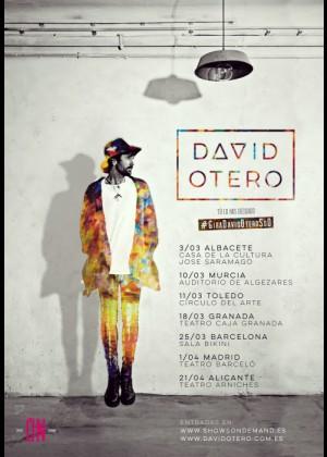 Concierto de David Otero en Granada