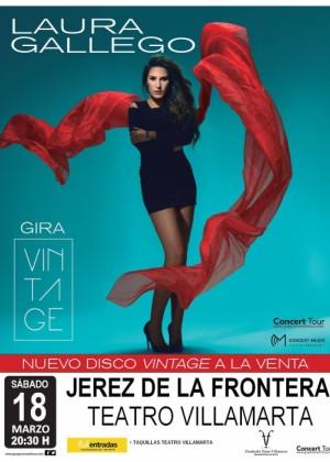 Concierto de Laura Gallego en Jerez de la Frontera