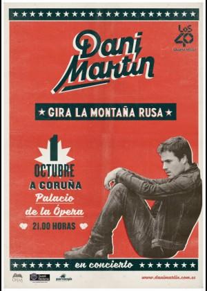Concierto de Dani Martín en A Coruña