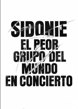 Concierto de Sidonie en Olot (Gerona)