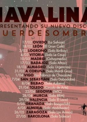 Concierto de Havalina en Barcelona
