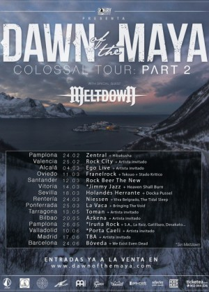 Concierto de Dawn of The Maya en Bilbao
