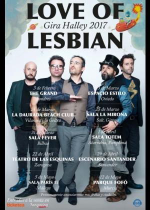 Concierto de Love of Lesbian en Santiago de Compostela