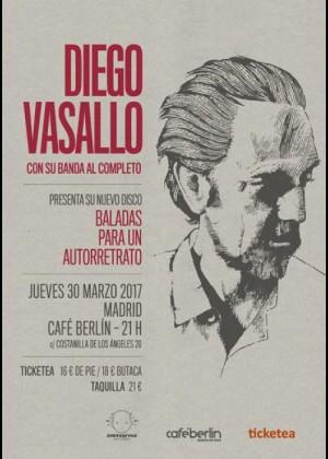 Concierto de Diego Vasallo en Madrid