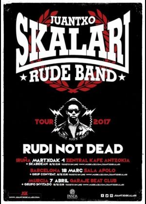 Concierto de Juantxo Skalari & la Rude Band en Murcia