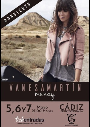 Concierto de Vanesa Martín en Cádiz