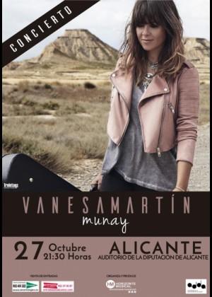 Concierto de Vanesa Martín en Alicante